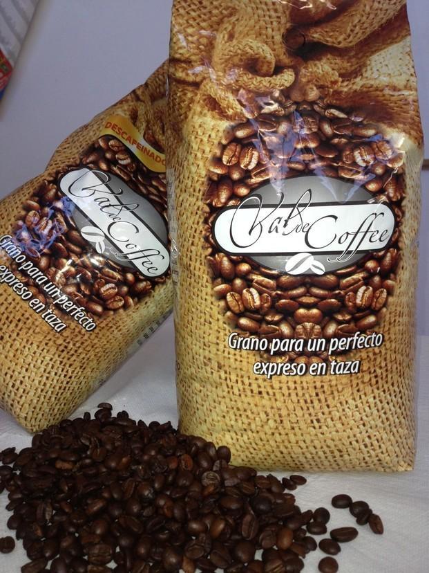 Café en grano. Café de primera calidad