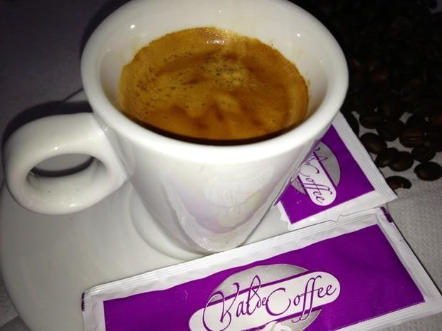 Café Expreso. Taza de café expreso