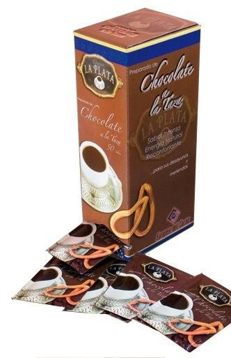 Chocolate La Plata. Cacao en polvo