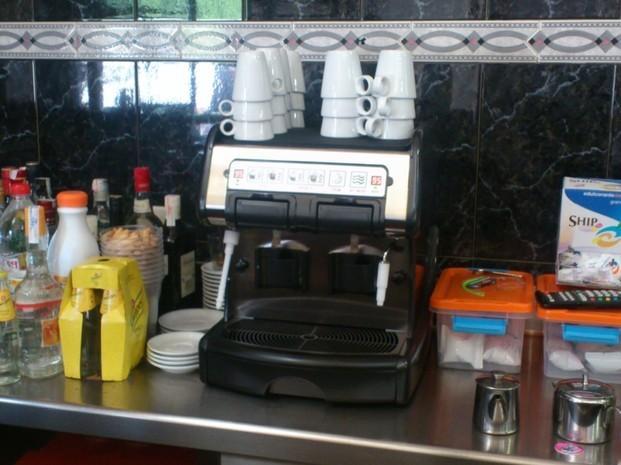 Twin cup. Máquina de café