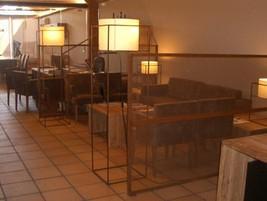Decoración interior restaurant