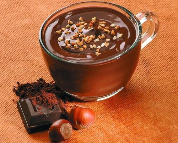 Avellanas. El mejor chocolate con escamas de avellana.