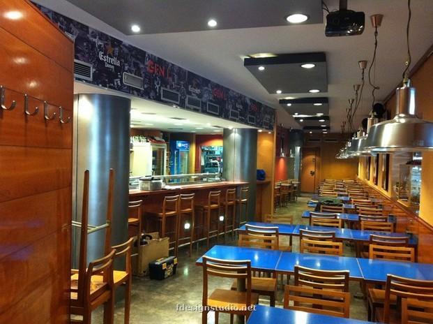Servicios de Decoración. Diseño de interiores para bares