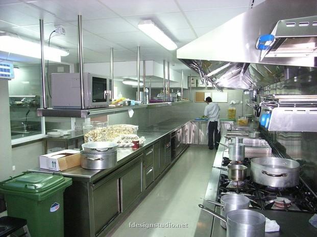 Cocina para restaurante. Cocinas industriales