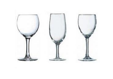 Cristalería . Copas y vasos de todo tipo