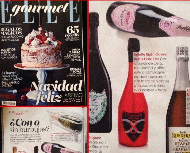 Champagne.Infinite Eight Couvées Rubis en Elle Gourmet
