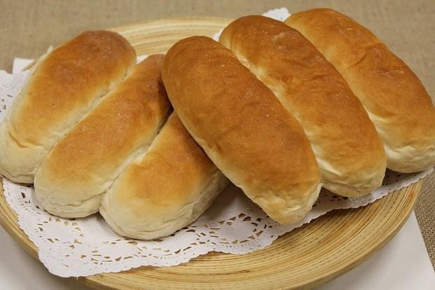 Pan de perrito. Pan de perrito de 80 gramos