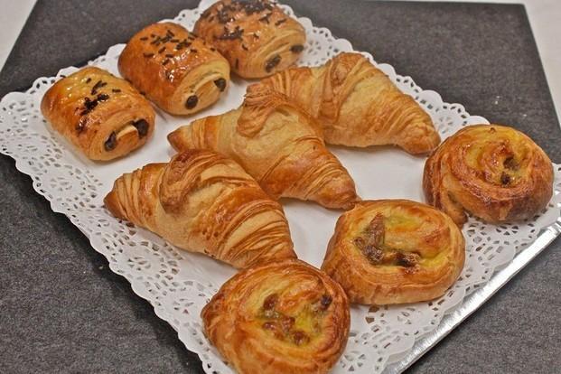 Bollería dulce. Croissants, ensaimadas, napolitanas...