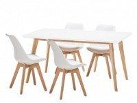 Conjunto 4 sillas más mesa