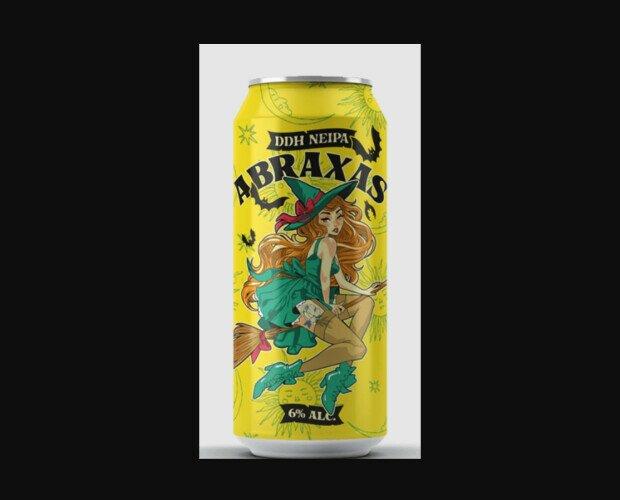 La Grúa Abraxas. NEIPA con double dry hopping de Sabro, Citra e Idaho