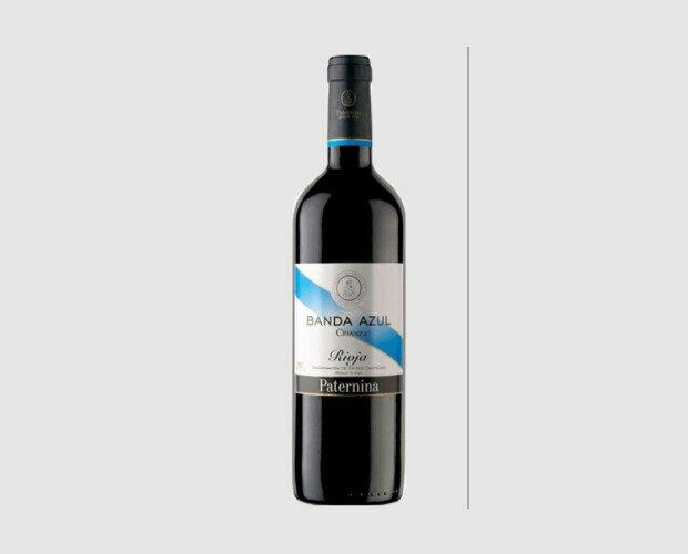Rioja Banda Azul Crianza 2016. Tinto DO La Rioja. Crianza 12 meses en barricas de roble blanco americano.