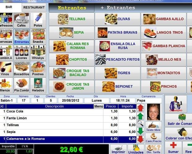 Desarrollamos software. Software TpvBarman, posiblemente el mejor software TPV del mercado