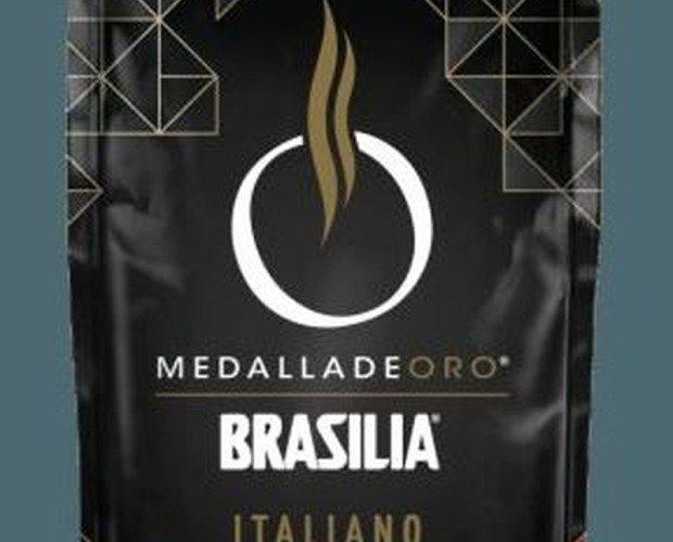 Café Brasilia. Mezcla equilibrada de arabicas sudamericanos y robustas asiáticos de gran calidad.