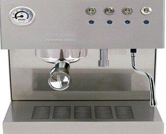 Máquina para oficina y hogar. Funciona con café en grano y cápsula