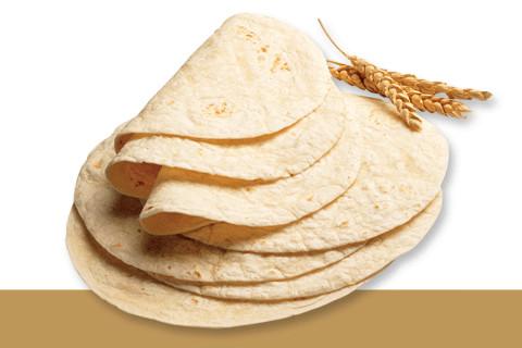 Pan Durum. Tortillas de trigo