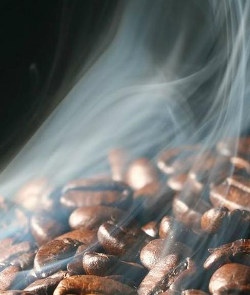Café en grano. Delicioso café en grano