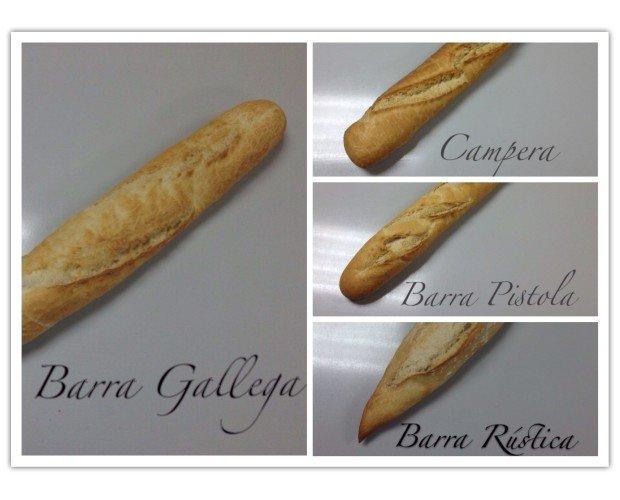 Barra gallega. Pan de calidad