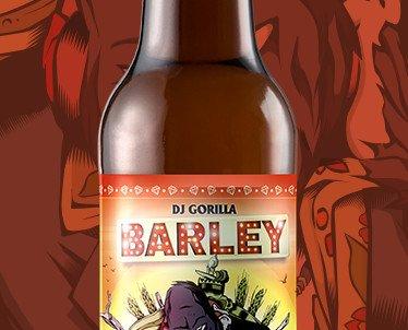 Botella Barley. Refrescantes toques tropicales y frutales intensos.