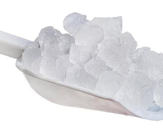 Hielo Picado.Perlas de hielo macizo de buen tamaño