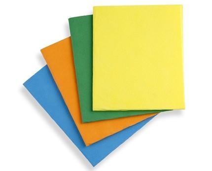 Utensilios de Limpieza. Set de 12 bayetas en diferentes colores