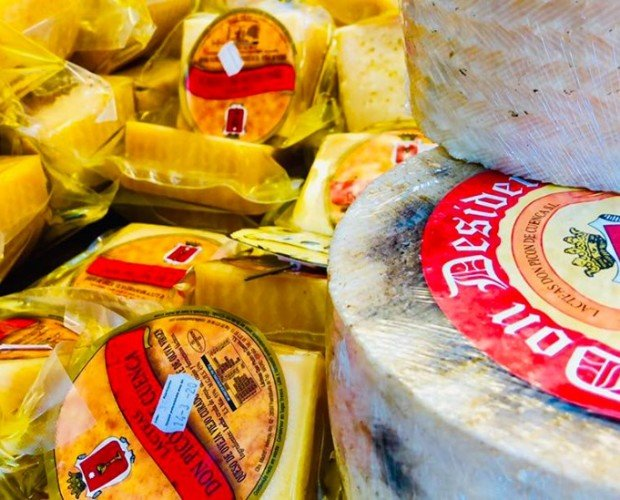 Variedad de quesos. Excelente sabor y calidad