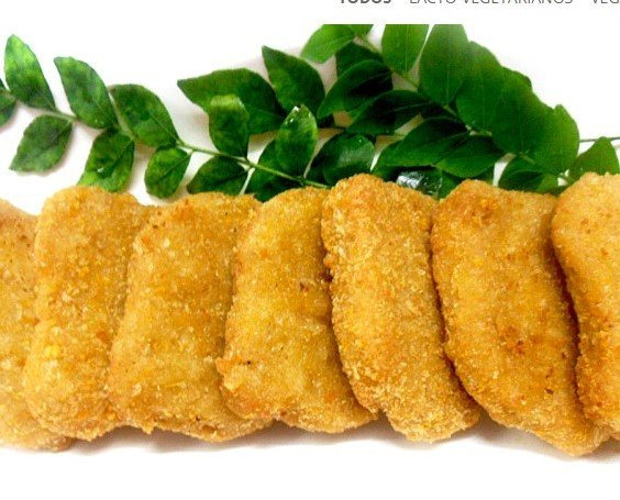 Nuggets vegetales. Nuggets