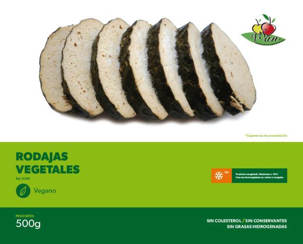 Rodajas vegetal. Productos de alta calidad