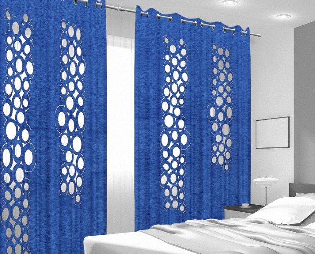 Cortinas para Bares.Personalización de cortinas con calados exclusivos