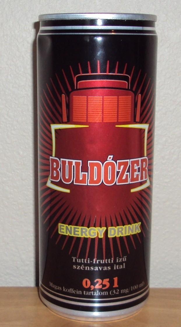 Buldózer . Bebida Energética