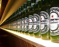Cerveza. Cerveza Heineken