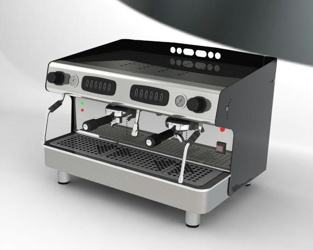 Cafetera. Máquina de café profesional