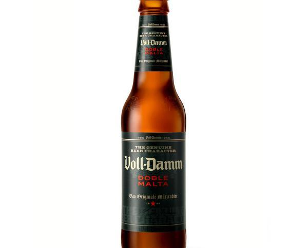 Botellas de Cerveza con Alcohol.Cerveza voll damm cristal.