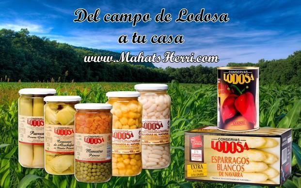 Campo Lodosa. Selección productos Lodosa