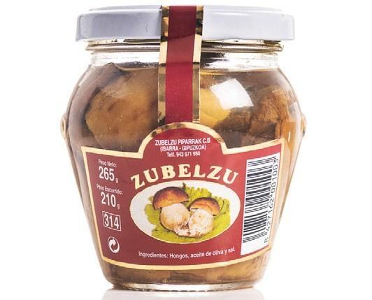 Boletus Edulis. Hongos Boletus Edulis elaborados con aceite de oliva de gran calidad.