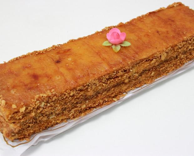 Tarta de yema y crema. Deliciosa tarta yema y crema - Aja