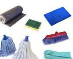 Utensilios de limpieza. Gran variedad de productos
