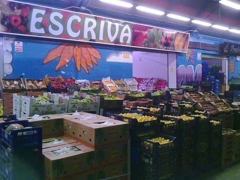 Vegetales y frutas. Nacionales y de importación.