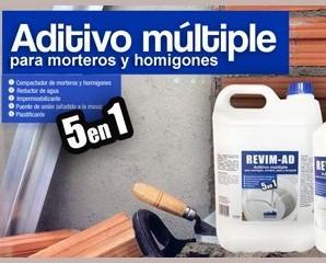 Revim-AD. Aditivo múltiple para morteros y hormigones