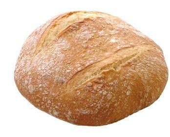 Pan redondo 250g. Pan típico de pueblo