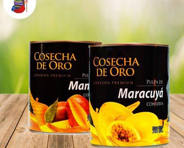 Pulpas de maracuyá y mango. No tienen aditivos, ni conservantes
