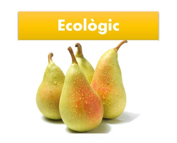 Peras.Disponemos de frutas ecológicas