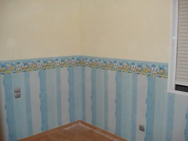 Pintores.Pintura Decorativa en habitación infantil
