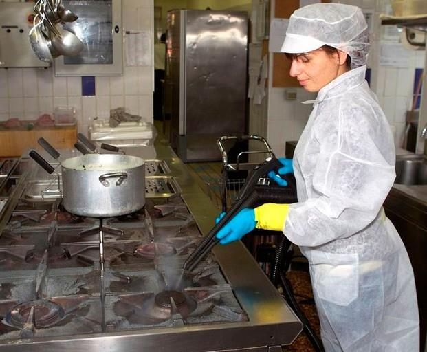 Limpieza de cocinas. Desinfección de cocinas, almacenes, despensas...