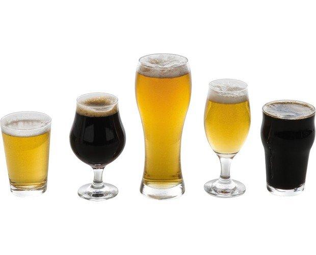 Juego vasos de cerveza. Especial para catas