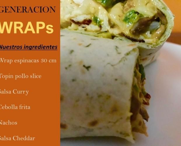 Platos Platos Precocinados a Base de Carne.Tortillas de 30 cm ambiente, de espinacas, tomate o neutra