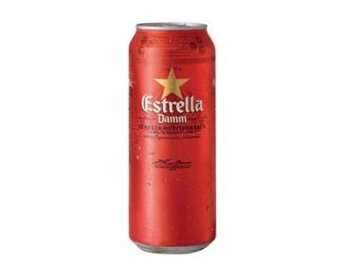 Estrella Damn. Cerveza de 1/2