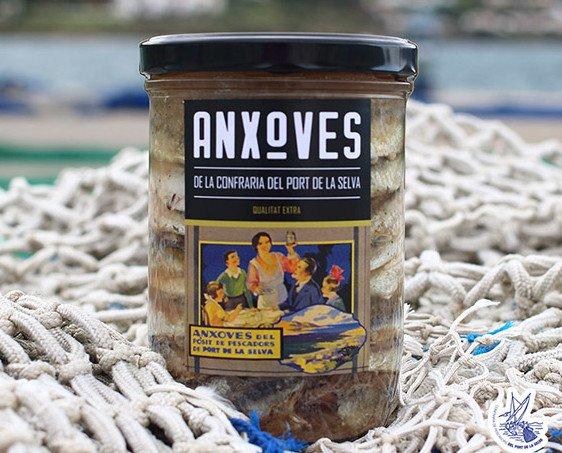 Conserva de anchoas. Exquisita receta