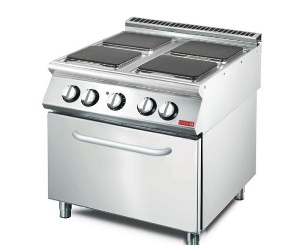 Cocina eléctrica Gastro-M. Cocina industrial eléctrica
