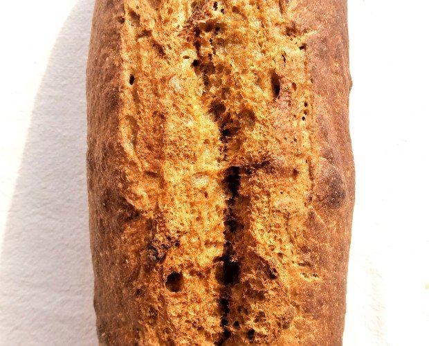 Pan Ecológico.Ingredientes: harina de espelta semintegral 100% eco, masa madre, sal y agua