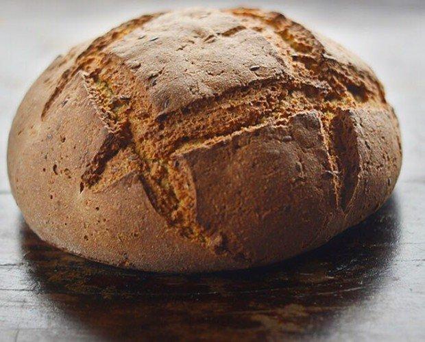 Pagès. Pa de pagès rústico variedades antiguas: blat recuperat català